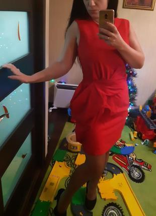 Красное платье5 фото