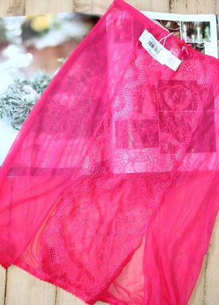 Подъюбник гипюровый кружевная юбка philippe matignon италия philippe matignon
