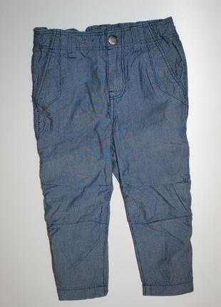 Штаны брюки бриджи h&m 1-2 года 92 см