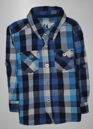Рубашка tu на 1-2 года