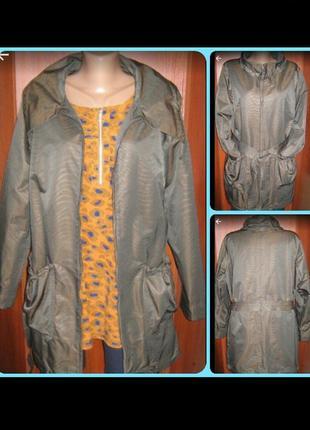 Куртка курточка ветровка женская р.52-54