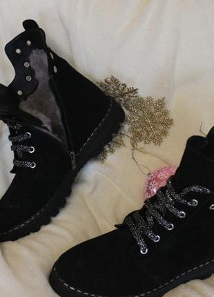 Деми- байка ,зима -мех, мега удобные,  ботинки,36-42р3 фото