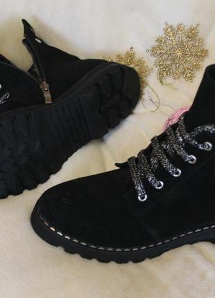 Деми- байка ,зима -мех, мега удобные,  ботинки,36-42р4 фото