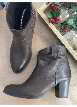 Кожаные ботинки lasocki pp 41