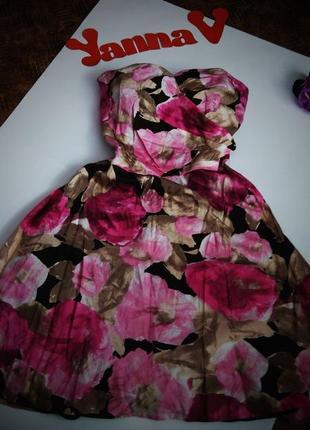 Платье вечернее нарядное бюстье миди скидка размер 52 54