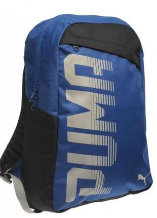 Рюкзак, спортивная сумка puma, синий