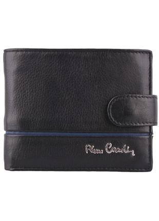 Мужское портмоне из натуральной кожи pierre cardin 323a-tilak15 black