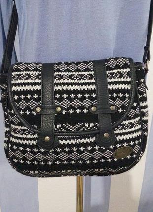 Гарна брендова трикотажна сумка