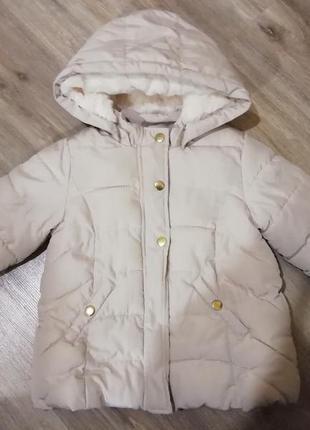 Куртка h&m 12-18м.
