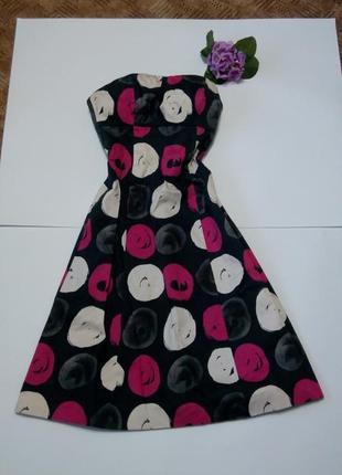Платье миди вечернее сарафан 46 размер нарядное coast топ лук скидка coast