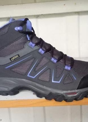 Ботинки женские треккинговые salomon tibai mid gtx gore-tex 399259   (38 2.3/24 см)
