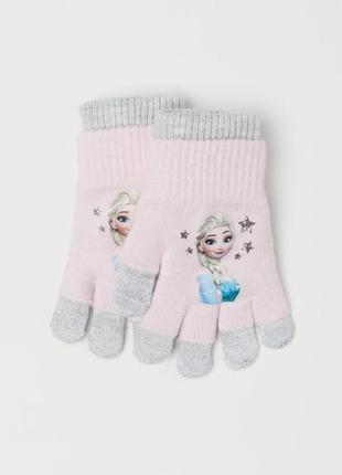 Рукавички, перчатки митенки h&m 1.5-4, 4-8 лет