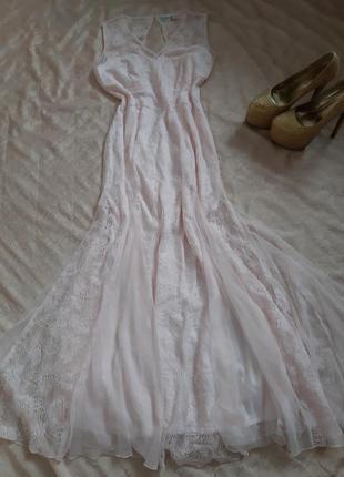 """Вечернее, выпускное кружевное платье """"русалка"""" от bodyflirt"""