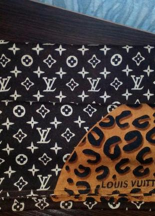 Палантин/шарф с логотипом louis vuitton