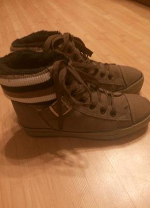 Зимние кроссовки, ботинки на меху
