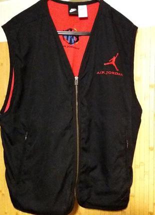 Спортивный жилет,безрукавка с карманами,50-54разм.,nike