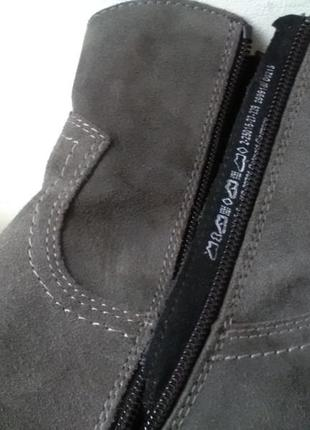 Модные кожаные полусапожки marco  tozzi3