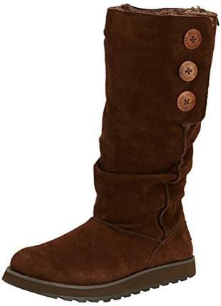 Сапоги/угги skechers brrr boots / стелька 25,5 см