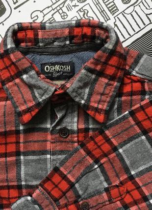 Фланелевая рубашка oshkosh