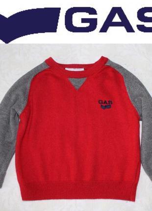 Gas крутой свитер на стильного малыша