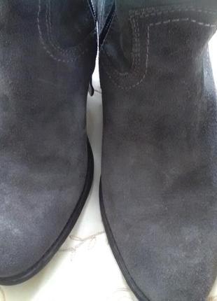 Модные кожаные полусапожки marco  tozzi4