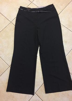 Большой размер, классические чёрные брюки next!