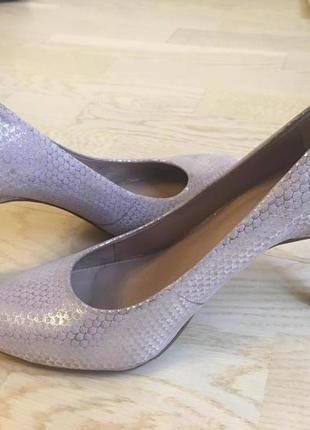 Шикарные туфли из кожи дракона