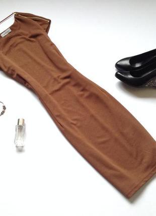 Трикотажное платье миди  jessica