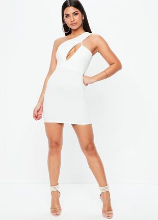 Стильное откровенное мини платье