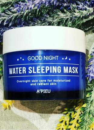 Увлажняющая ночная маска a'pieu good night water sleeping mask