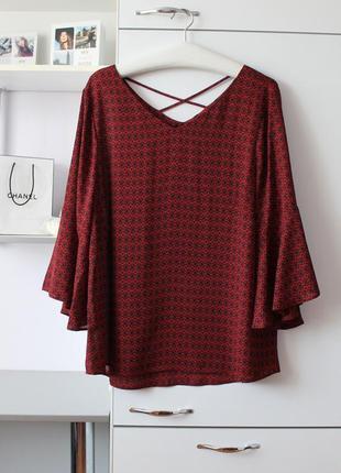 Очень красивая шифоновая блуза большого размера