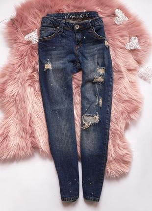 Рванные джинсы bluemotes размер s-m