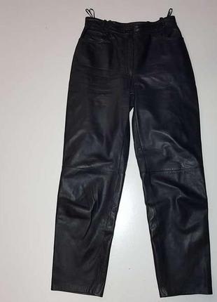 Брюки кожаные, leder, в поясе 38-40,5 см, как новые!