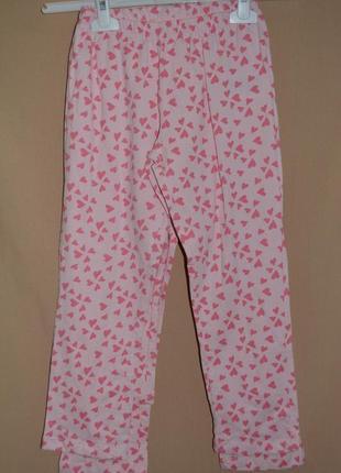 Штаны для сна хлопок  lupilu размер 98-104 см