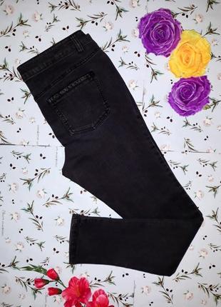 Модные серо-черные высокие узкие джинсы скинни dorothy pekins, размер 48-50