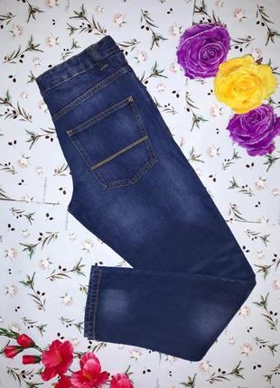 Фирменные узкие джинсы next с подворотами, размер 44-46