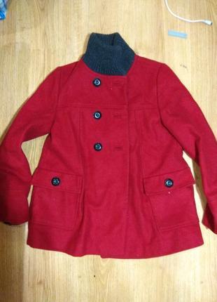 Полу пальто zara 146-152 размер