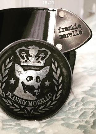 Кожаный ремень frankie morello (италия)