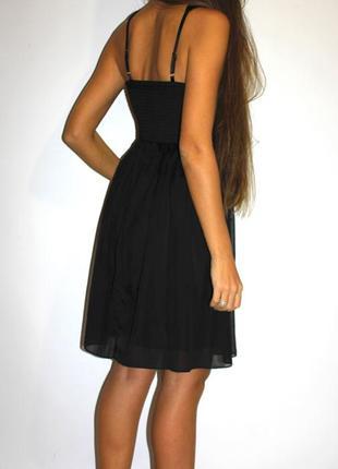 Черное шифоновое платье, очень красивое ! --- огромный выбор платьев ---2