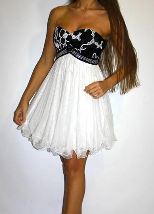 Нарядное платье в камнях и паетках ! --- огромный выбор платьев ---