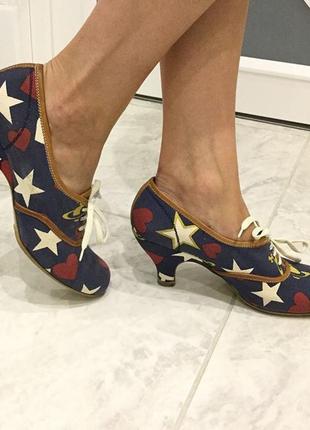 Джинсовые туфли от vivienne westwood, оригинал!