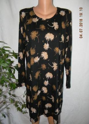 Трикотажное платье большого размера marks & spencer