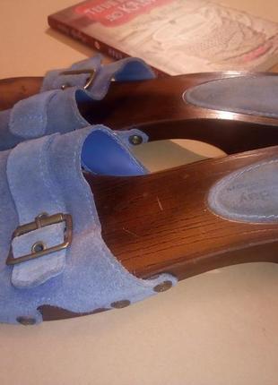Туфли шлепки от фирмы montegobay club.