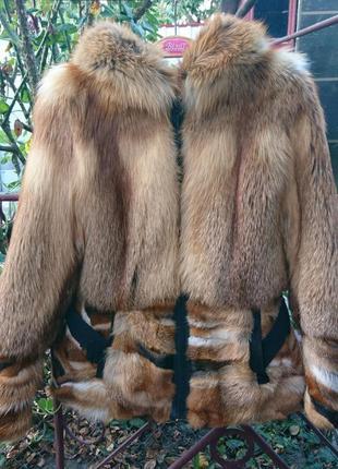 Теплая лисичка 🦊, оригинальная модель, размер м