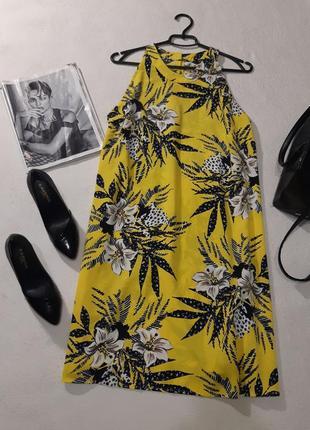 Красивое яркое платье. размер xxl