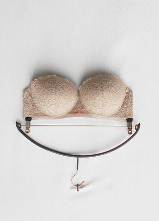 Элитный кружевной сексуальный эротический бюстгальтер балконет с пуш ап 85b