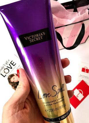 Лосьон для тела victoria's secret love spell