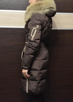 Пуховик с мехом. зимнее пальто