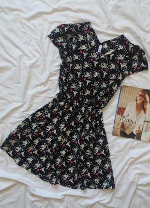 Легкое платье с перфорацией сзади сарафан плаття сукня henry holland
