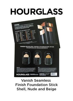 Тональная основа в стике hourglass vanish seamless finish foundation stick (пробники)